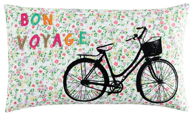 Bon Voyage Cushion Cover eclectic-pillows