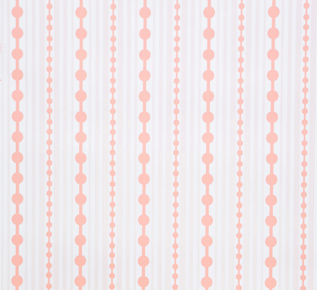 Striped Wallpaper Sheet Cloudberry Contemporary