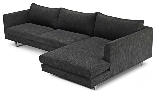 Owens modern fabric sectional sofa modern sectional for Sectional sofa definition