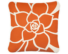 Rosette EcoArt Organic Pillow contemporary-pillows