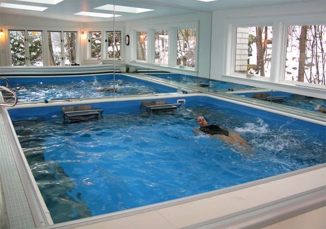 Dual Propulsion Endless Pool Modern Swimming Pools