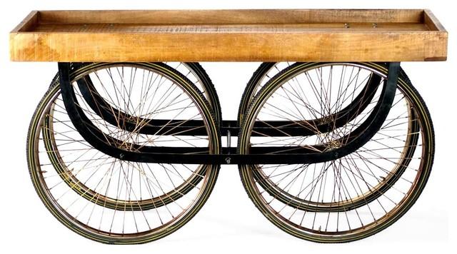Street Vendor Rolling Console industrial-bar-carts