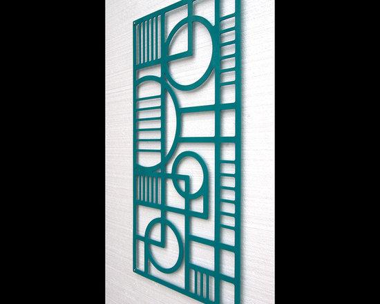 Deco Panel No. 2 in Powder Coated Aluminum -