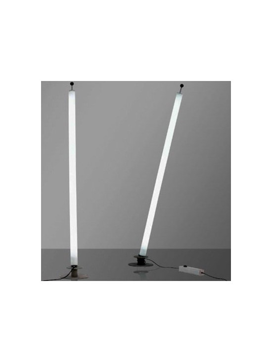 TUBE FLOOR LAMP  BY PALLUCCO LIGHTING - Tube by Pallucco is a multifunctional light available as a wall / ceiling fixtures as well as a versatile floor lamp.