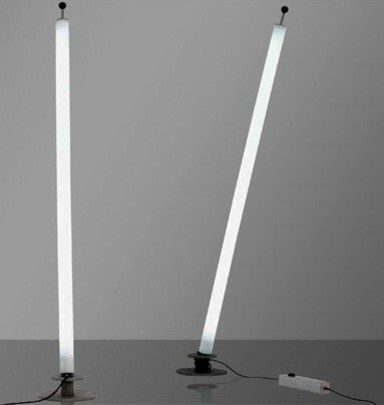 Tube floor lamp by pallucco lighting modern floor for Floor lamp with tube light