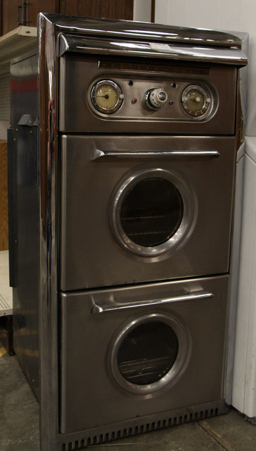 Western-Holly Double Oven with Rotisserie midcentury-kitchen-products