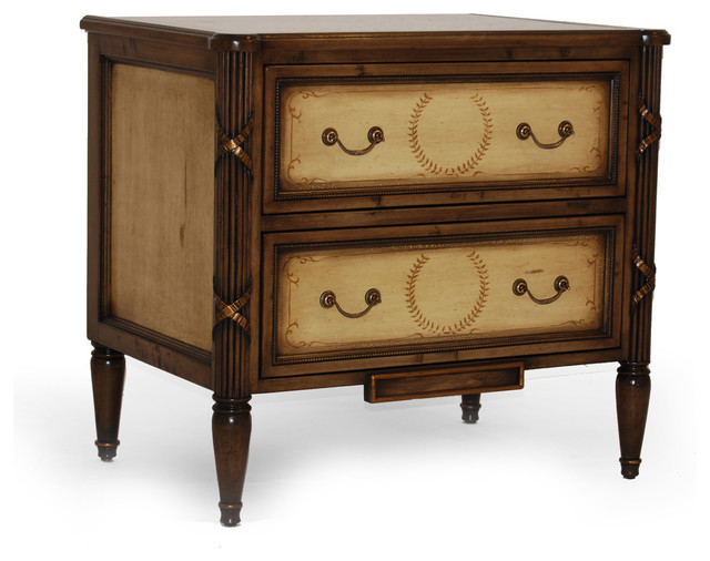 French nightstand traditional nightstands and bedside for French nightstand bedside table