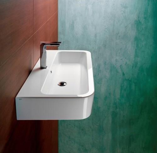 Tracia L2 Ceramic Bathroom Sink with Overflow modern-bath-products