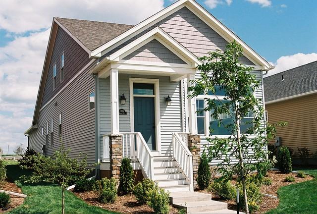 Ontario Circle New Homes traditional-exterior