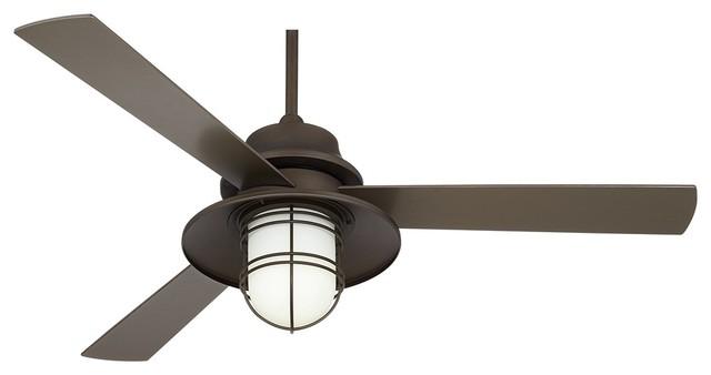 52 casa solera industrial bronze outdoor ceiling fan. Black Bedroom Furniture Sets. Home Design Ideas