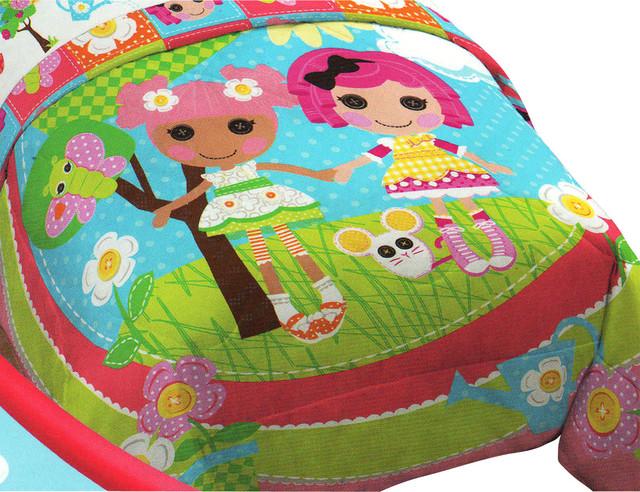 Lalaloopsy Sew Magical Rag Dolls Twin-Full Bed Comforter