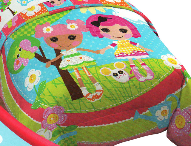 Lalaloopsy Sew Magical Rag Dolls Bed Comforter