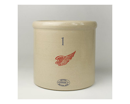 Red Wing Stoneware Crock -