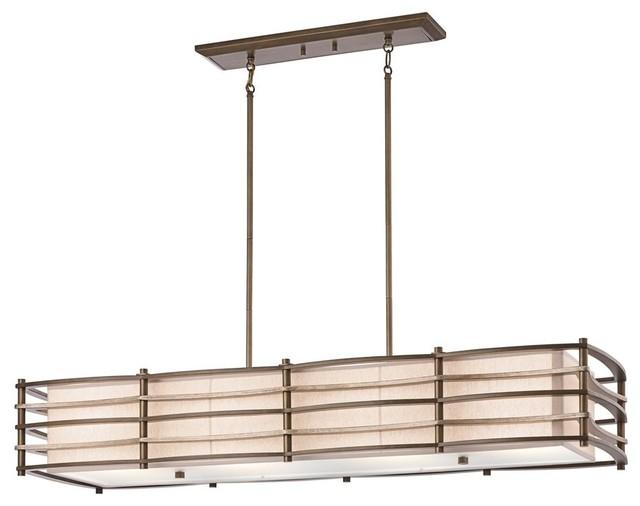 KICHLER Moxie Transitional Rectangular Kitchen Island / Billiard Light X-ZMC9902 contemporary-chandeliers