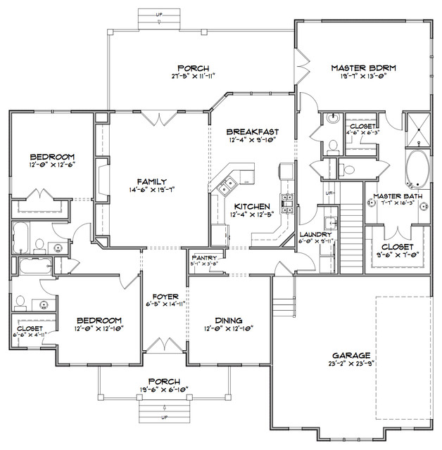 House plan sc2282 traditional floor plan other metro for Cox plans