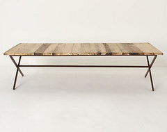 Plank House Coffee Table rustic-coffee-tables