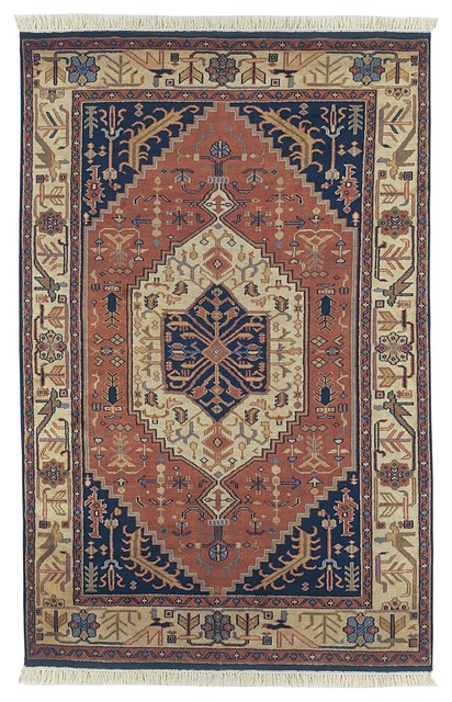Adana Traditional Hand Knotted Wool Rug traditional-rugs