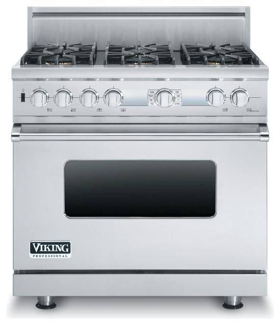 viking 36 inch dual fuel range VDSC536T6BSS