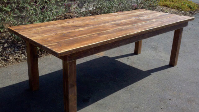reclaimed wood : dining tables from www.houzz.com size 640 x 362 jpeg 74kB