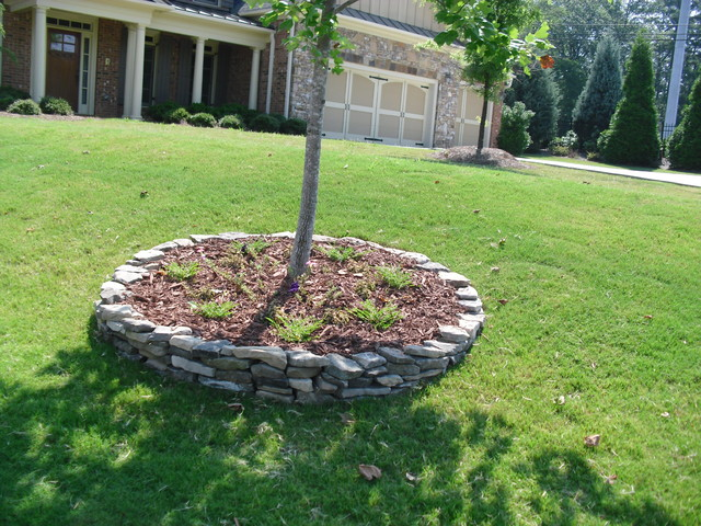 Tree Ring Traditional Atlanta By Old Towne Landscape