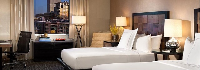 Luxe Los Angeles City Center contemporary-headboards