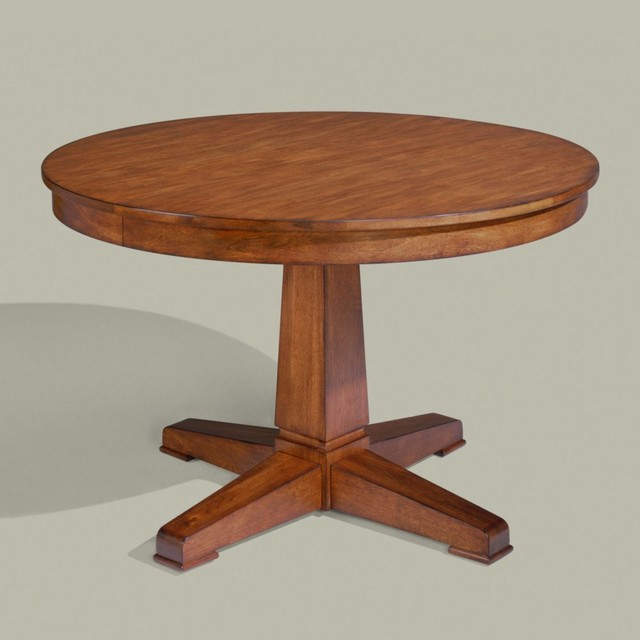 Tango Sierra Round Dining Table Traditional Dining