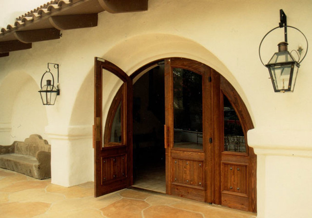 Arched Doorway contemporary front doors