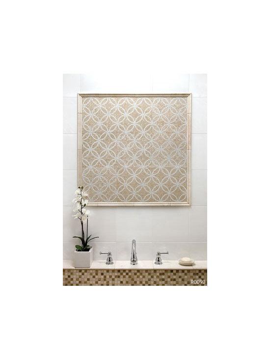Bursa Beige Mosaic with Thassos -