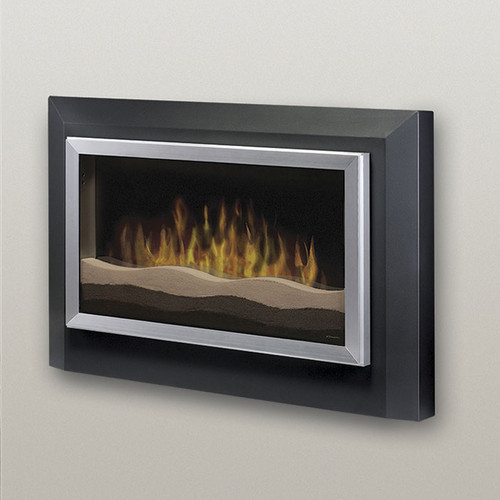 Sahara Wall Mounted Electric Fireplace Modern Outdoor