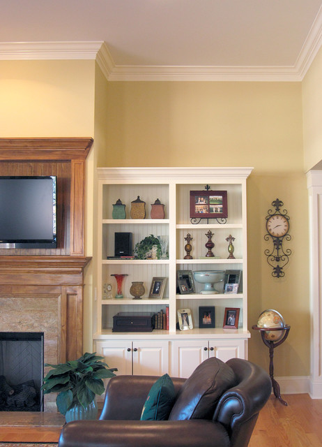 Warm Creams and Caramels Accentuate in Pinehurst traditional-kitchen