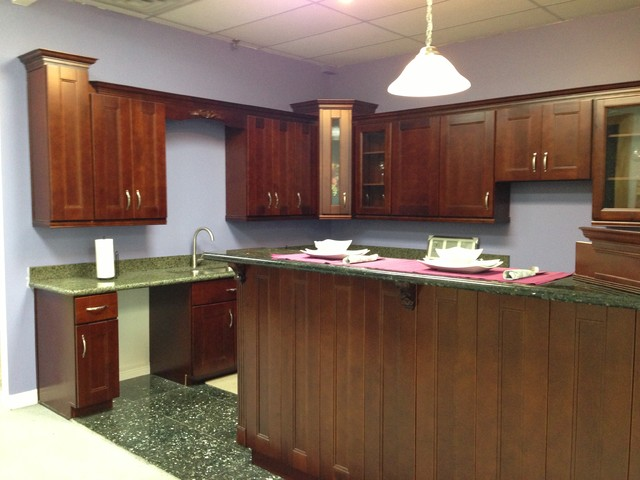 Sample Kitchen of Jin Quan contemporary kitchen cabinets