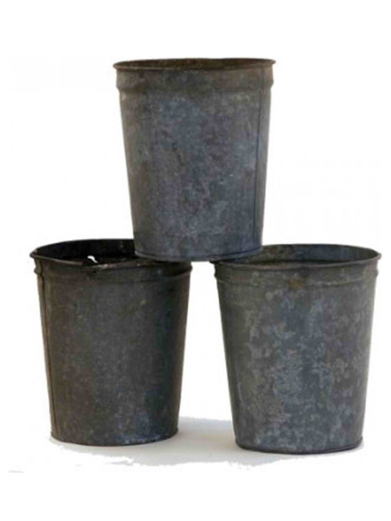 Maple Sap Buckets - Maple sap collecting buckets. Sold individually or get a stack. The most versitile bucket around the house. These used buckets have seen the hard times of collecting Vermont liquid gold.