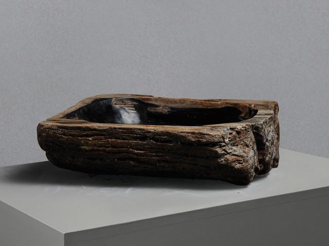 Small Petrified Wood Stone Basin - Rustic - Bathroom Sinks - london - by Lapicida Stone Group