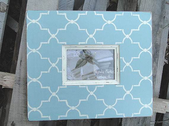 Trellis Distressed Picture Frame by Magnolia Market contemporary-frames