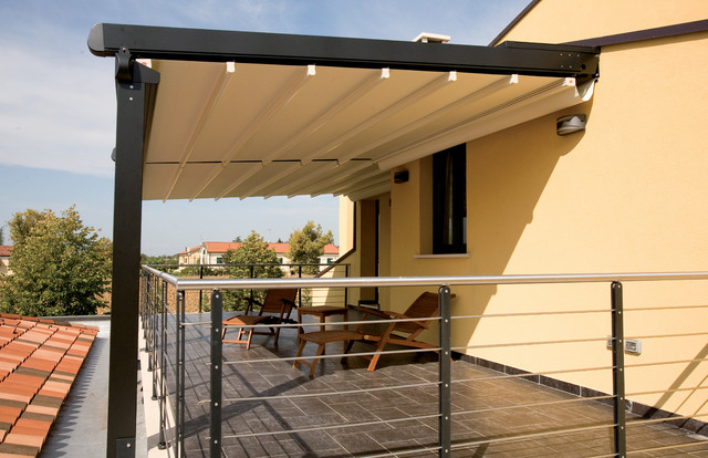 Awning for large terrace - Pergola  outdoor products