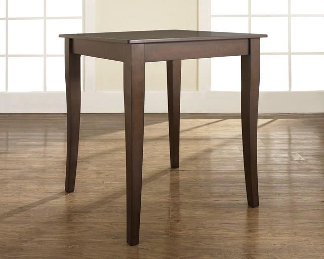 Cabriole Leg Pub Table in Mahogany contemporary-bar-tables