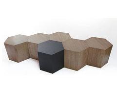 Modular Geometric Hive Table modern-furniture