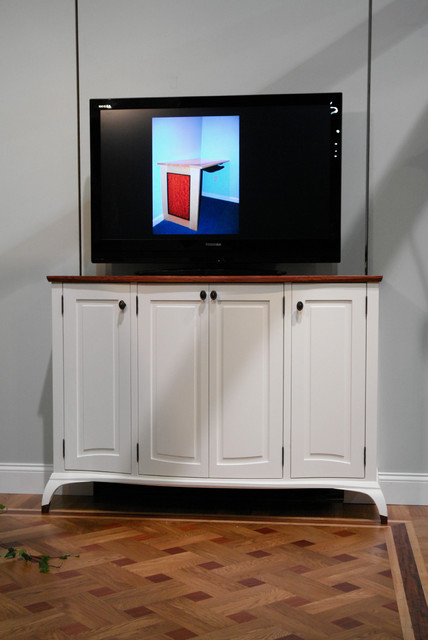 Built-in Media cabinet - Contemporary - boston - by Ugol ...