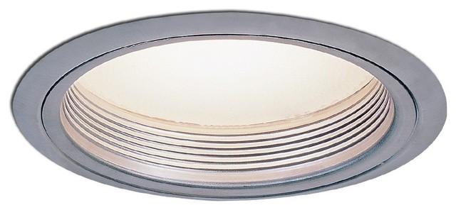"""Nora NTM-42 6"""" Regressed Albalite Lens with Baffle, Ntm-42n modern-recessed-lighting"""