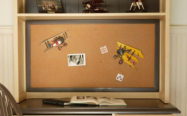 Framed cork board modern bulletin boards and for Modern cork board