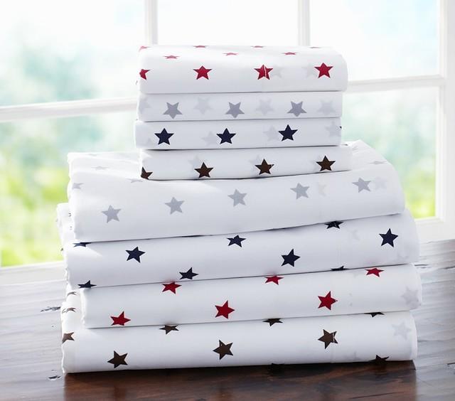 Organic Star Sheet Set - Kids Bedding - san francisco - by ...