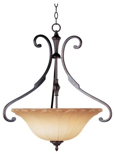Maxim Allentown Pendant Light - 25W in. Oil Rubbed Bronze traditional pendant lighting