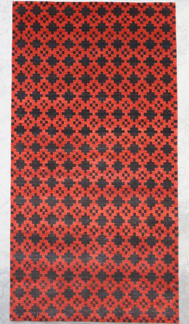 Natural-Dye Tibetan eclectic-rugs