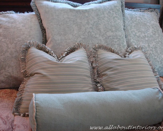 All About Interiors - Custom Pillow -