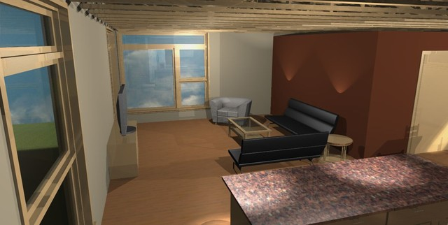 Proposed Loft Home rendering