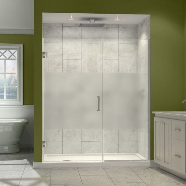 DreamLine SHDR-245757210-HFR-06 Unidoor Plus Shower Door modern-showers