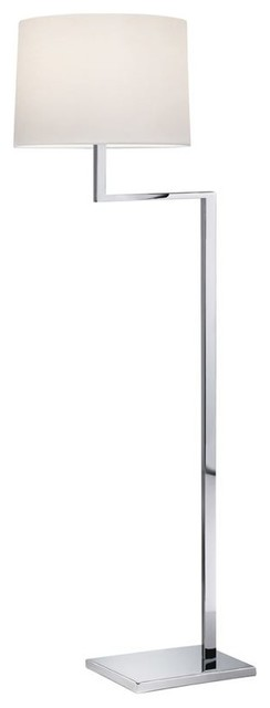 Sonneman Lighting 6426.01 Thick Thin Floor Lamp In Polished Chrome contemporary-floor-lamps