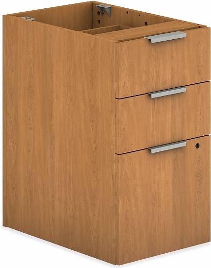 HON Voi Support Pedestal | Box/Box/File contemporary-desks