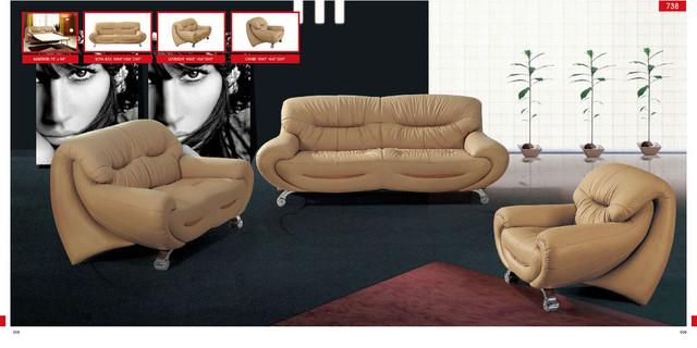 738 Modern Living Room Sofa Set contemporary-sofas