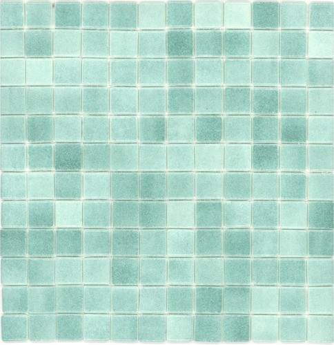 Elida ceramica recycled mosaic artic green glass wall tile - Recycled glass tiles bathroom ...